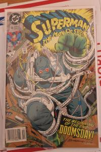 Superman the Man of Steel 18 VF/NM