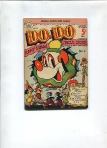DO-DO #3 1951-NATION WIDE COMICS-NM