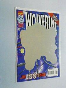 Wolverine #100 Hologram Cover 8.5 VF+ (1996)