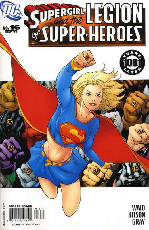 SUPERGIRL  (2005) 16-36  & LEGION OF SUPER-HEROES