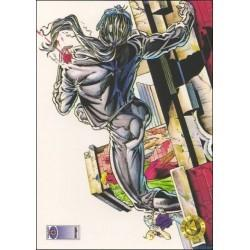 1993 Upper Deck Valiant/Image Deathmate A FALLEN SHADOW #23