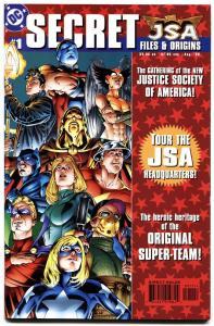JSA Secret Files and Origins #1-First Hawkgirl (Kendra Saunders) Atom-Smasher.