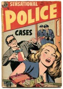 Sensational Police Cases #2 1954- Avon Golden Age Crime comic F/G