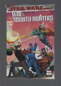 Star Wars: War of the Bounty Hunters #1 (2021) Variant
