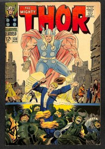 Thor #138 VG 4.0 Marvel Comics