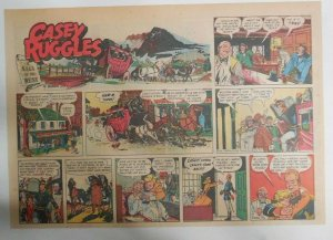 Casey Ruggles Sunday #1 by Warren Tufts from 5/22/1949 Half Page Size! Year #1