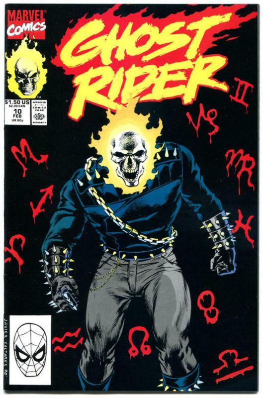 GHOST RIDER #6 7 8 9 10, NM+, Johnny Blaze, Punisher, Mark Texeira, 1990