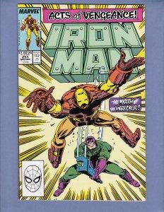 Iron Man #251 NM Wrecker Marvel 1989