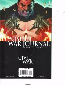 4 Civil War Comics War Journal #1 Thunderbolts 104 Heroes 4 Hire The Return AK47