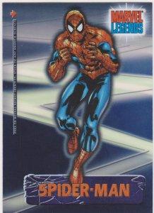 2001 Topps Marvel Legends Secret Identity #3 Spider-Man