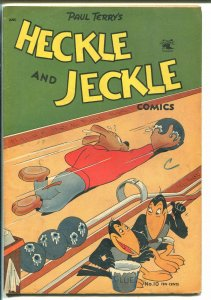Heckle and Jeckle #10-St John-bowling cover-wacky humor-VG