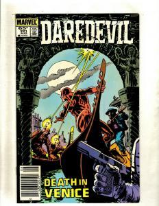10 Daredevil Marvel Comic Books #221 223 224 225 226 227 228 229 230 231 HY2