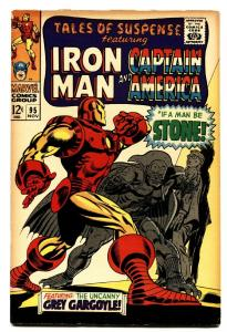 TALES OF SUSPENSE #95 comic book -IRON MAN/CAPTAIN AMERICA VG/FN