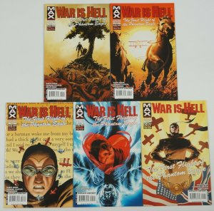 War Is Hell: First Flight of the Phantom Eagle #1-5 VF/NM complete series ENNIS