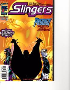 Lot Of 2 Marvel Comic Book Slingers #1 and Spectacular Spider-Man #1  KS11