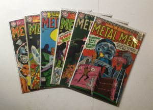 Metal Men 20 21 22 23 25 27 Lot Run Set Very Good Vg 4.0 Dc Comics