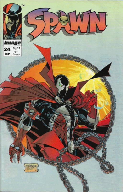 Spawn #24 (1992-Present) Image Comics