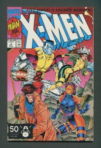 X-Men #1  (Colossus,Gambit Variant)  / 9.2 NM- / October 1991
