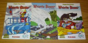 Whistle Blower #1-3 VF/NM complete series - occupy movement philosophy - comics