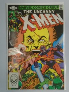 Uncanny X-Men #161 Direct edition 8.0 VF (1982 1st Series)