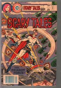 Scary Tales #40 1983-Charlton-1st appearance of Dragon Force-FN-
