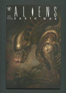 Aliens Earth War #1  / 7.0 FN/VFN  / June 1990