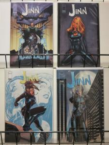JINN (2000 IMAGE)   1,2a,2b,3 resurrecting the Jinn myt