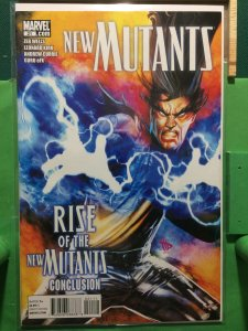 New Mutants #21 2009 series Rise of the New Mutants Conclusion