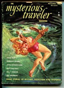 Mysterious Traveler #1 5/1951-1st issue-Norman Saunders strangulation cover-VG