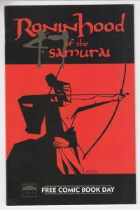 Roninhood of the Samurai Beckett Comics Unstamped NM- FCBD 2005