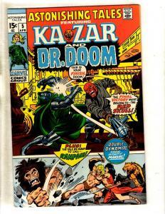 Astonishing Tales # 5 VF/NM Marvel Comic Book Ka-Zar Dr. Doom Red Skull Zuba FM5
