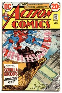 ACTION COMICS #424 1973-SUPERMAN-GORILLA GRODD-FN+