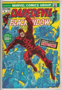 Daredevil #100 (Jun-73) NM- High-Grade Daredevil, Black Widow
