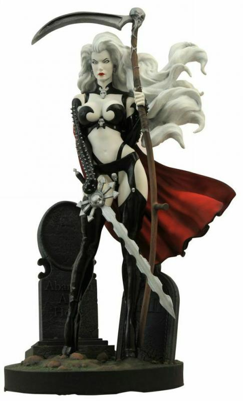 Femme Fatales Lady Death III The Reckoning Dark Queen PVC Figure - New!