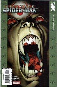 Ultimate Spider-Man #96 Brian Bendis Morbius NM