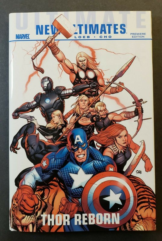 ULTIMATE COMICS NEW ULTIMATES: THOR REBORN PREMIERE EDITION HARD COVER NM