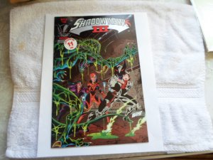 1993 IMAGE COMICS SHADOW HAWK # 4 OF 4.