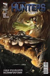 Grimm Fairy Tales presents Hunters: The Shadowlands #2, NM + (Stock photo)