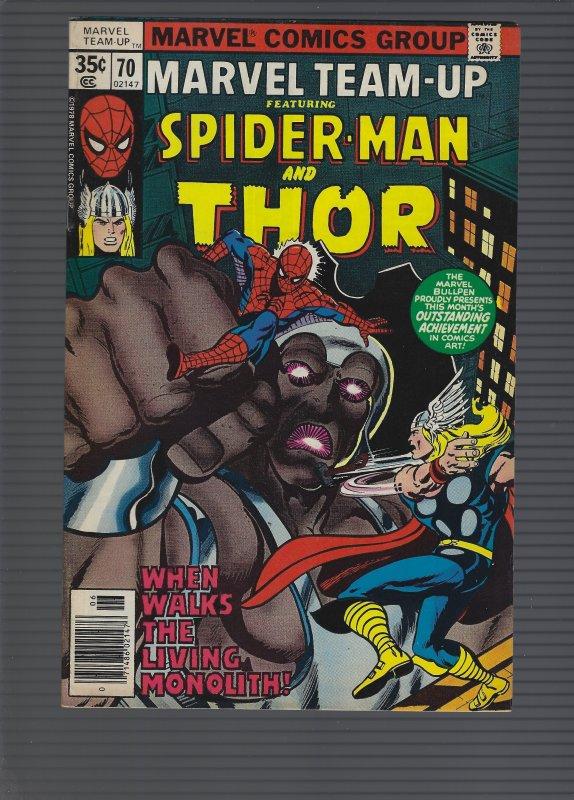 Marvel Team-Up #70 (1978)