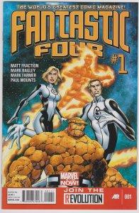 Fanatastic Four (Vol. 4 2013) #1 (VF-MN)