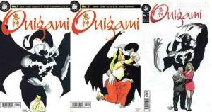 ONIGAMI (1998 ANTARCTIC PRESS) 1-3  Michael Lacombe