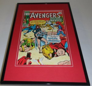 Avengers #83 Framed 11x17 Cover Display Official Repro Valkyrie Black Widow