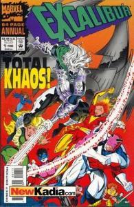 Excalibur (1988 series) Annual #1, NM (Stock photo)
