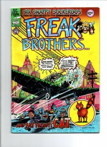Fabulous Freak Brothers #6 - 3rd Print - Underground - Rip Off Press - VG/FN