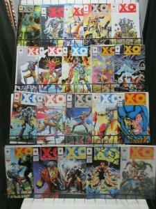 X-O Manowar (Valiant 1992) #7-63 Lot of 34Diff Alien Power Armor Adventures