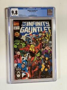 Infinity Gauntlet 3 Cgc 9.8 Marvel Wp