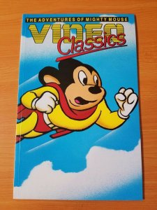 Video Classics #1 Mighty Mouse ~ NEAR MINT NM ~ (1989, Malibu Comics)