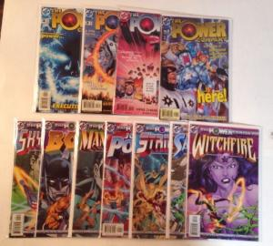 Power Company 1-4 Plus 7 Tie Ins Near Mint Lot Set Run