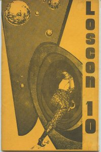 LOSCON 10 Programme Book (Nov. 1983) Kaiser Collection - Scarce
