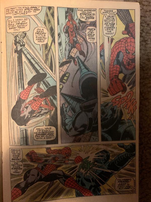Daredevil (1964) 27 VG+ (4.5)  Spider-man Appearance